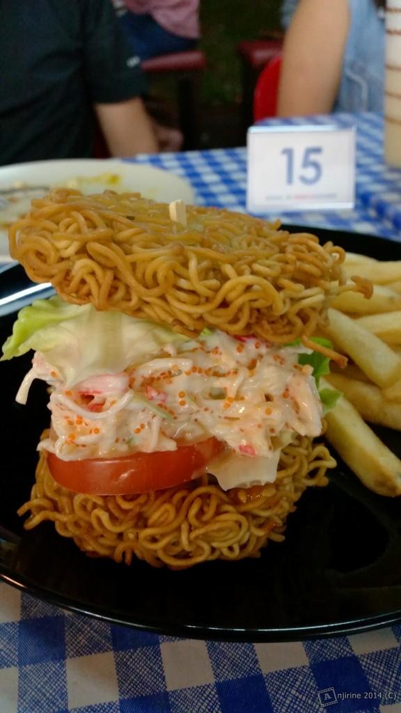 Mian - Crab Salad Ramen Burger